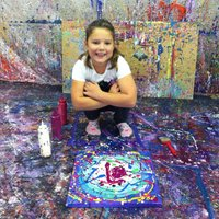 Action Painting workshop