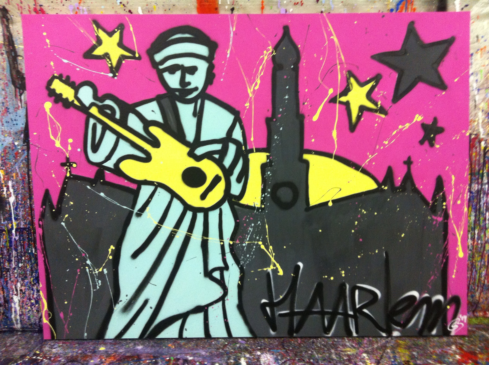 Herman Brood. Paint and roll!